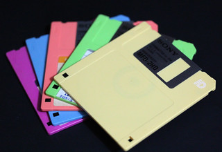 Diskettes used in uni days