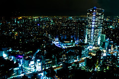 A night view of Roppongi/Tokyo