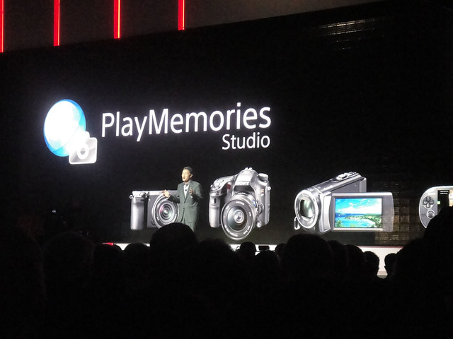 CES 2012 - Sony press event - PlayMemories Studio