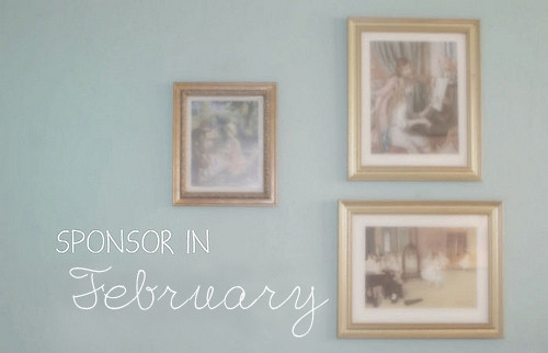 Sponsor in February