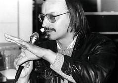 Inauguration de la Bibliotheque Elsa Triolet - Didier Daeeninckx - (Bobigny - 1986)