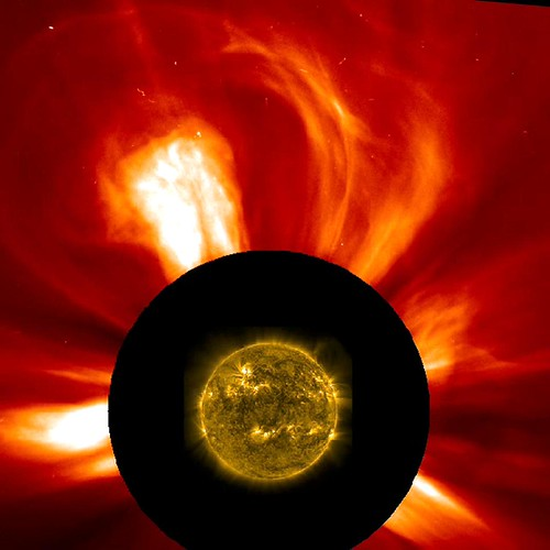 Double-Barreled Solar Event
