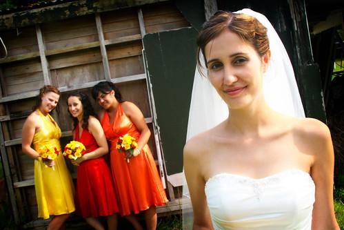 The Brideemaids formal shot
