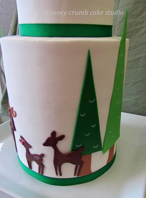 Baby Deer Cake Decorations