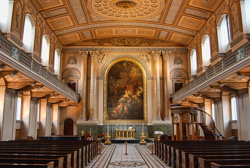 Inside the Old Royal Navy Chapel