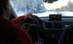 Härliga vintervägar i norr!