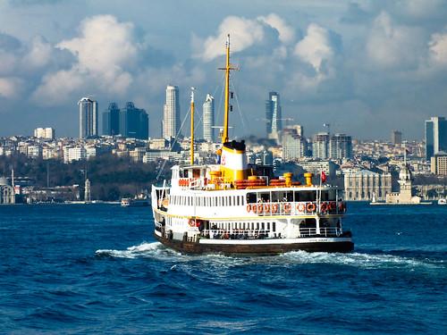 Boszporusz hajóval