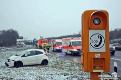 Verkehrunfall A66 Erbenheim 27.01.12