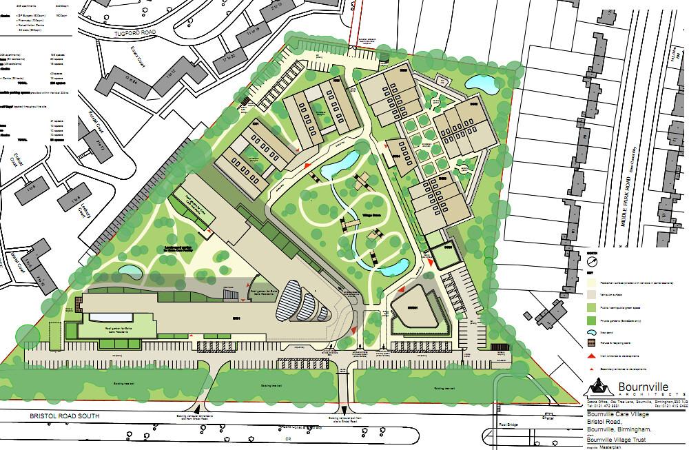 Gracewell of bournville extra care retirement village for Retirement village house plans