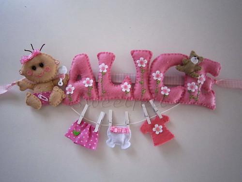 ♥♥♥ Alice ... by sweetfelt \ ideias em feltro