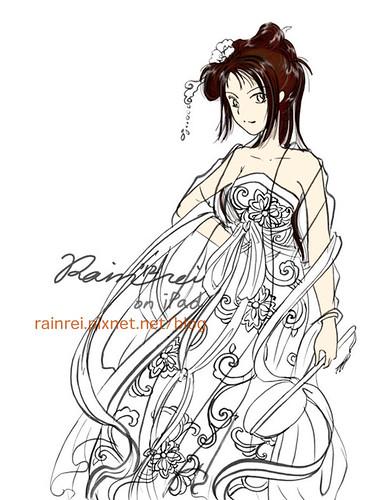 china lady