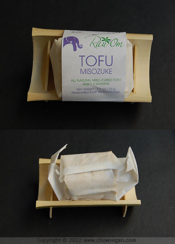 Tofu Misozuke From Rau Om