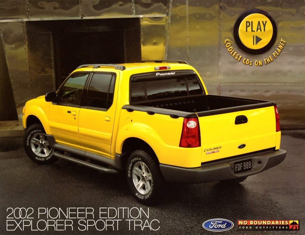 2002 ford explorer sport trac pioneer edition a photo on. Black Bedroom Furniture Sets. Home Design Ideas