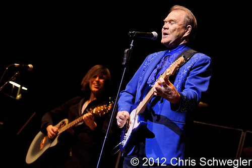 Glen Campbell - 01-28-12 - The 35th Ann Arbor Folk Festival Hill Auditorium, Ann Arbor, MI