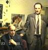 Profesor Vlastimir Peričić i Radivoj Lazić, Beograd, 23. 5. 1998. godine.