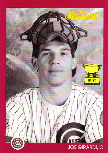 Baseball Card Bust Joe Girardi 1991 Studio Studio