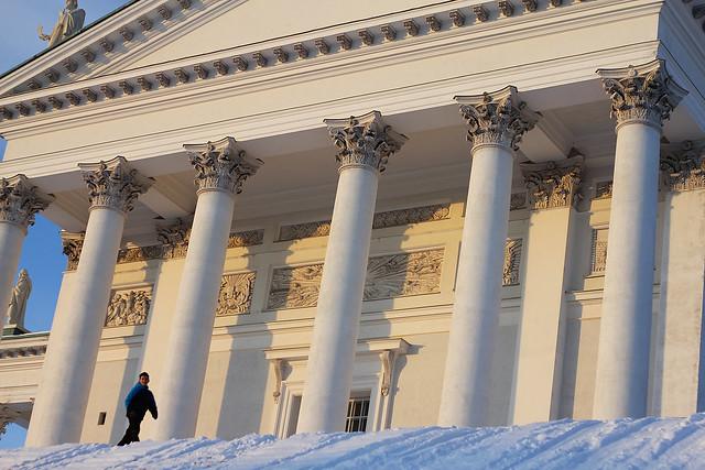Tuomiokirkko columns