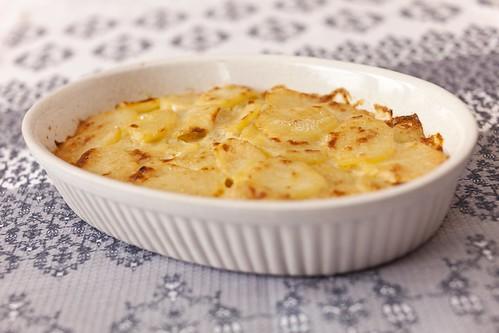 Patates gratinades 1
