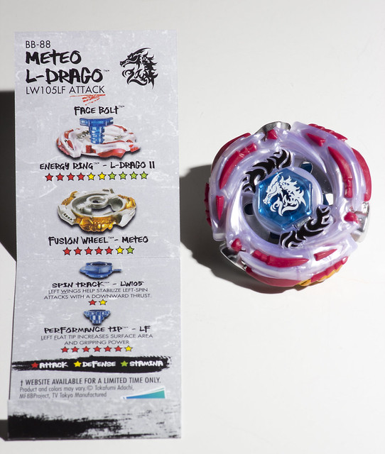 Beyblade BB-88 - Meteo L-Drago (LW105LF Attack) | Flickr - Photo ...