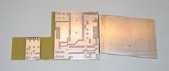 r0ket Laser Tag m0dul v0.8 PCB