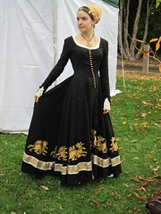 Medieval-inspired Gown
