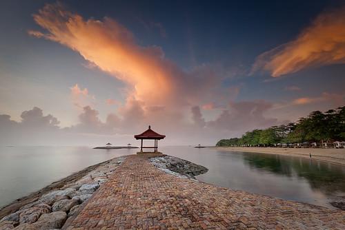 bali cloud storm sunrise canon indonesia coast coastline sanur the4elements leefilter eos5dmarkii