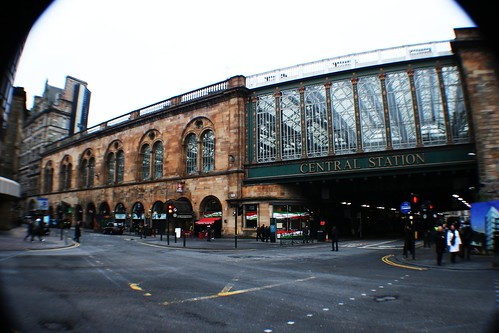Central Station and Argyle Street, Glasgow