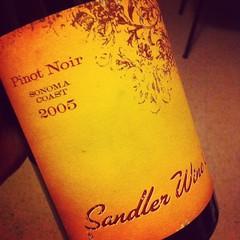 2005 Sandler Sonoma Coast Pinot Noir