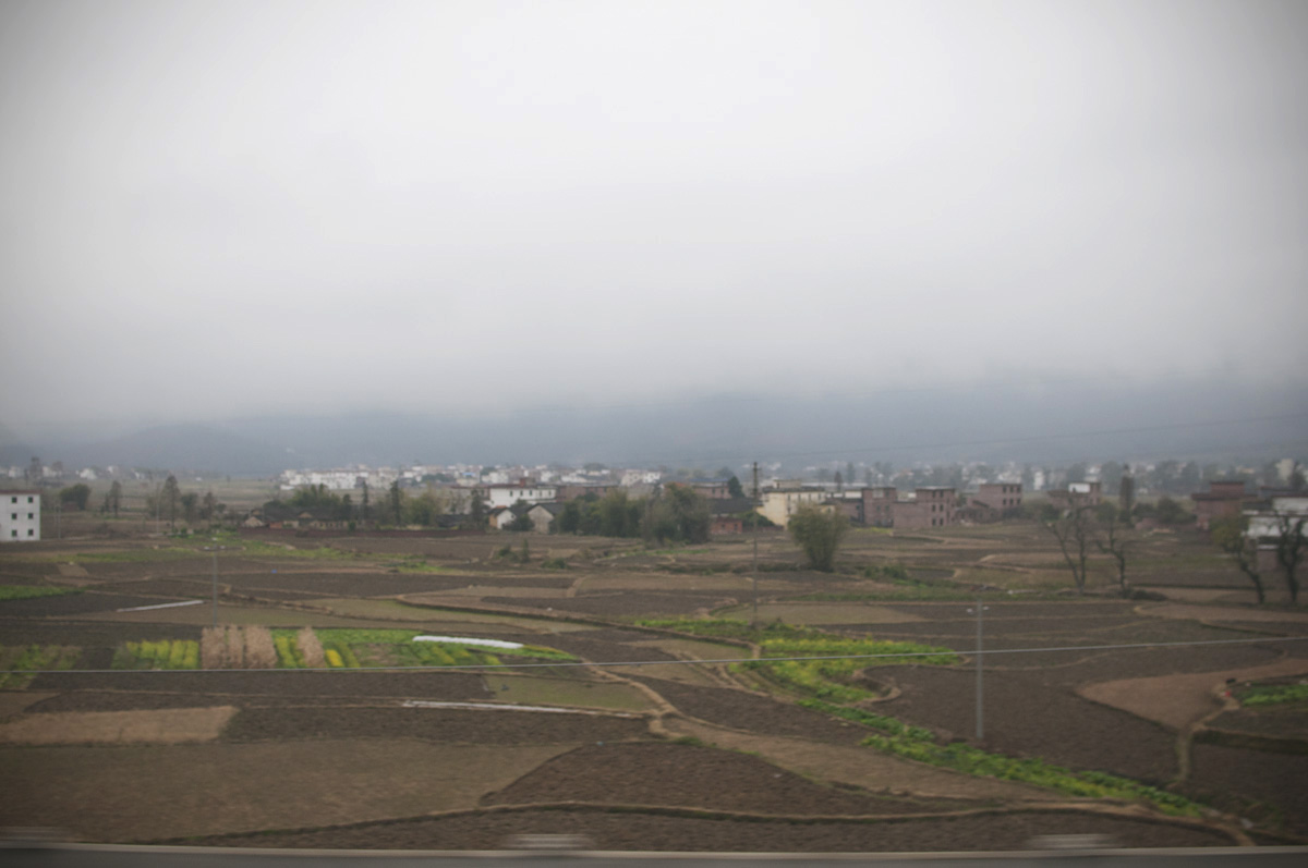 A farming community in Shouthern China.