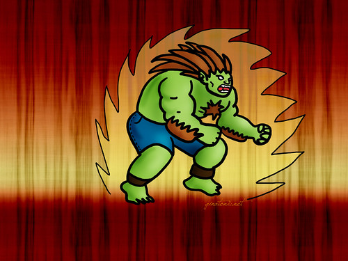 blanka street fighter