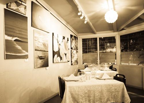 Inside Le Bistro D'Agathe