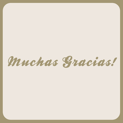 Muchas Gracias! by Vanina Vila {Photography}