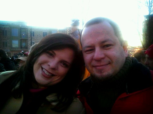 Tony and Anne at Ground Hog Day by wendysoucie