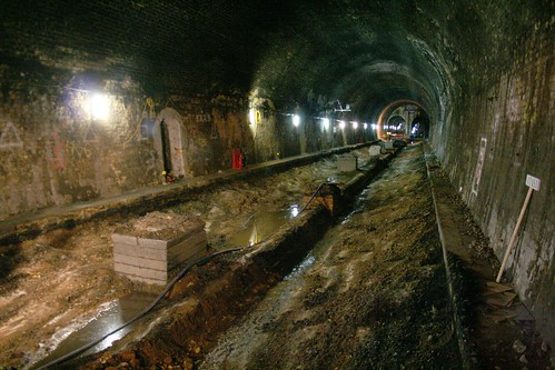 A future Crossrail tunnel