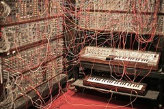 Moog Synthesizers at MIT Museum