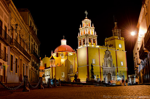 Argonz'es photo of the Guanajuato Basilica.