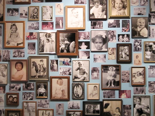 Wall of Framed Photos