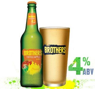 Brothers Toffee Apple Cider (4% ABV)