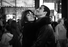 Lovers in Times Square