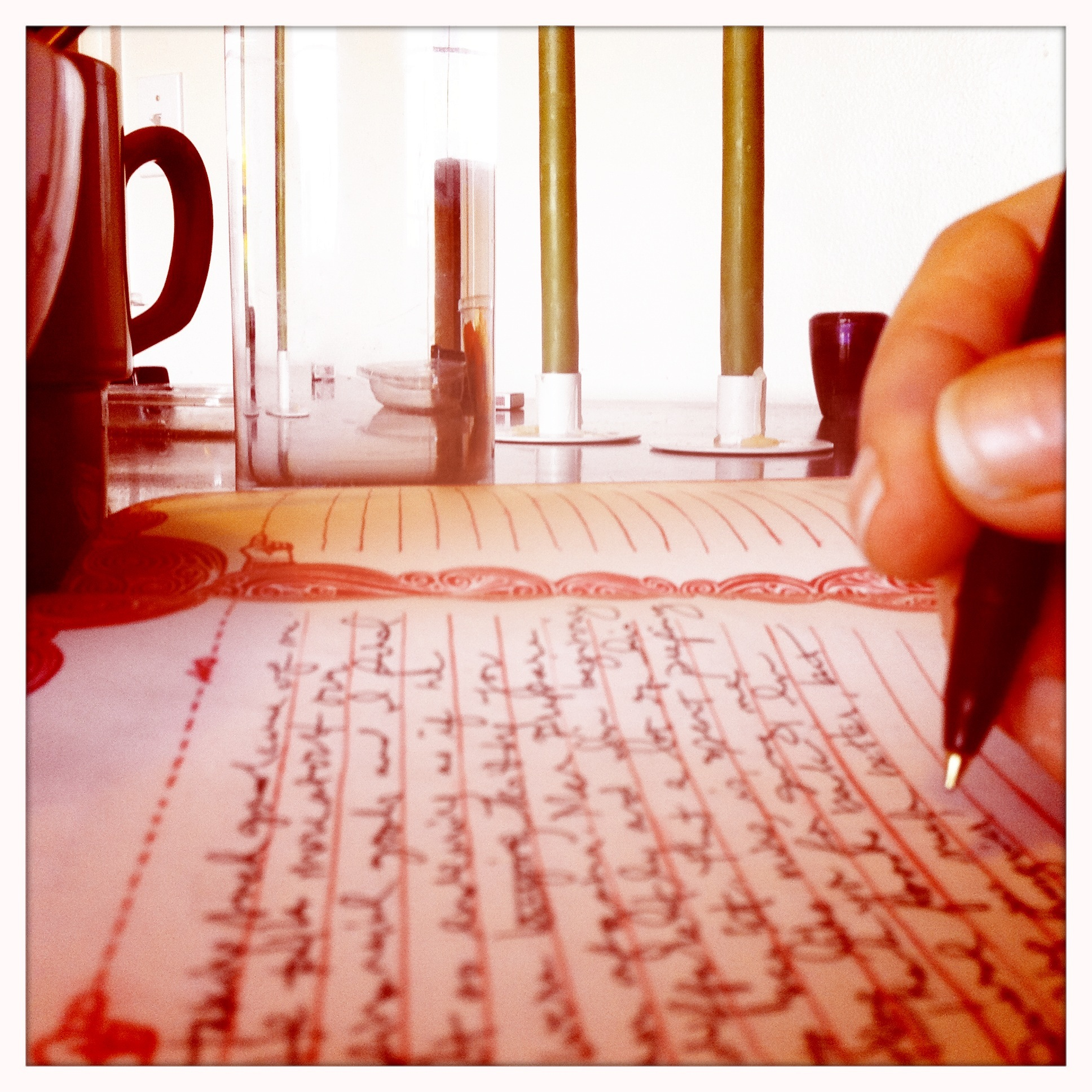 Sunday Morning Letters 2.5.12