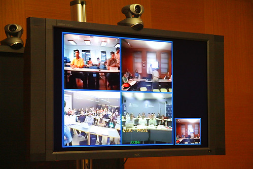 videoconference (by: Matt Hintsa, creative commons license)