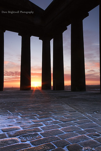 A Monumental Sunrise by Dave Brightwell