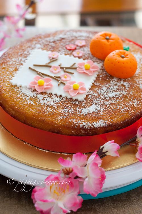 Chinese New Year Cake-nigella's clementine cake