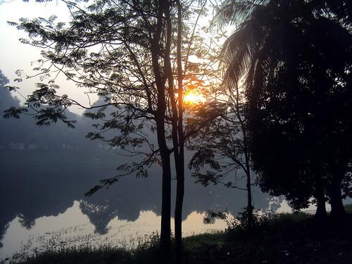park morning winter sunrise dhaka bangladesh ramna sajan164