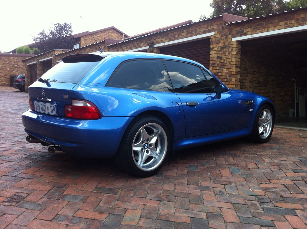 1999 M Coupe Estoril Blue Estoril Black Coupe