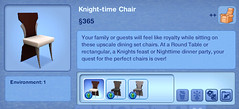 Knight-time Chair