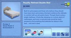Royalty Refined Double Bed