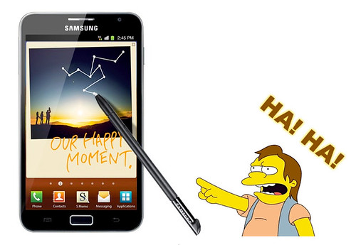 Samsung Galaxy Note with Pen
