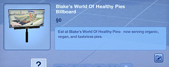 Blake's World of Healthy Pies Billboard