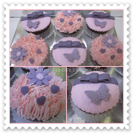 Cupcake set for Nasywa by DiFa Cakes